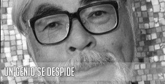 Hayao Miyazaki anuncia su retirada