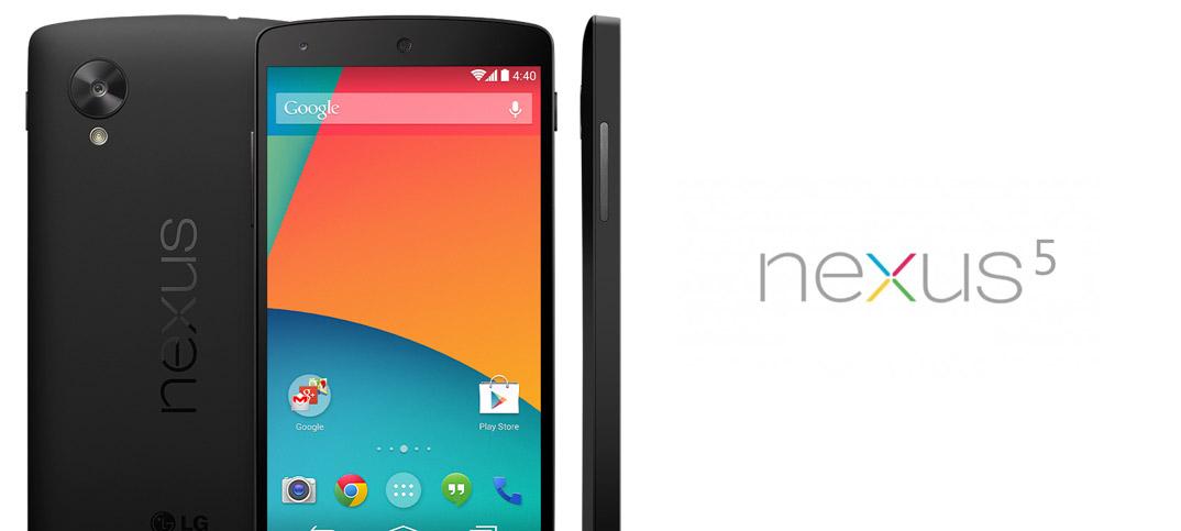 Google presenta su Nexus 5