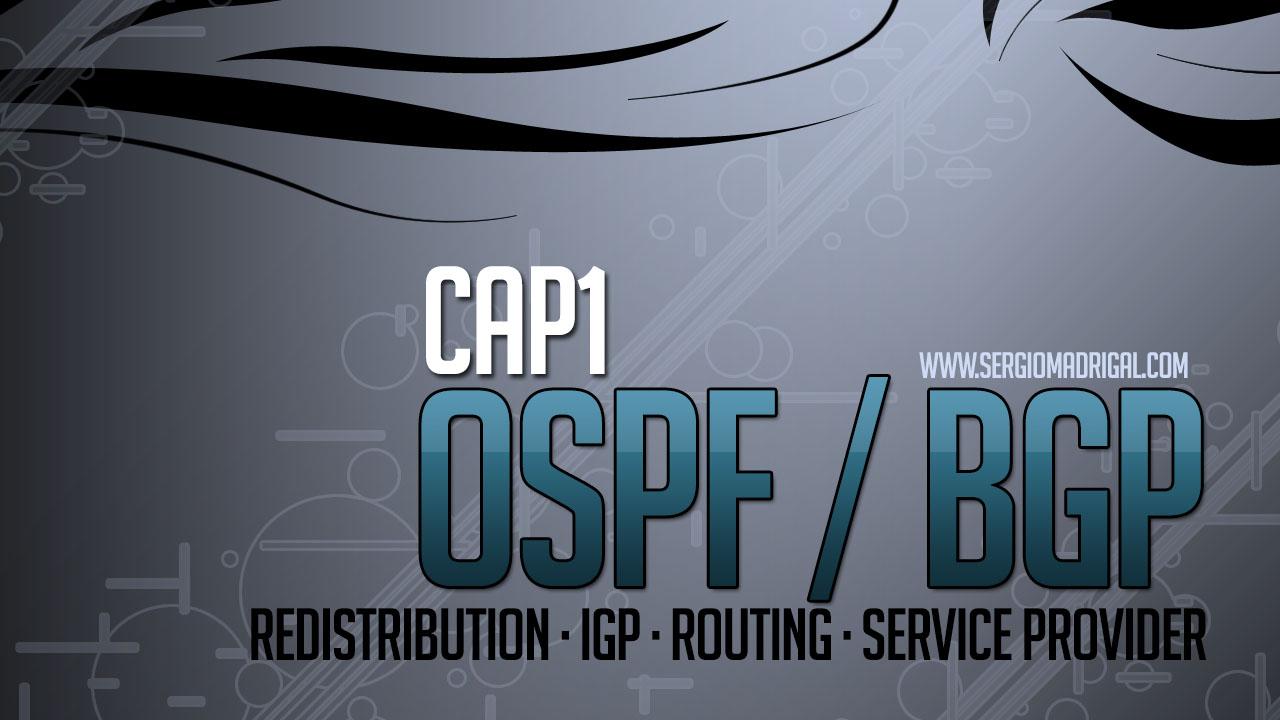 Laboratorio de Redes #101 – BGP y OSPF – Redistribución 1
